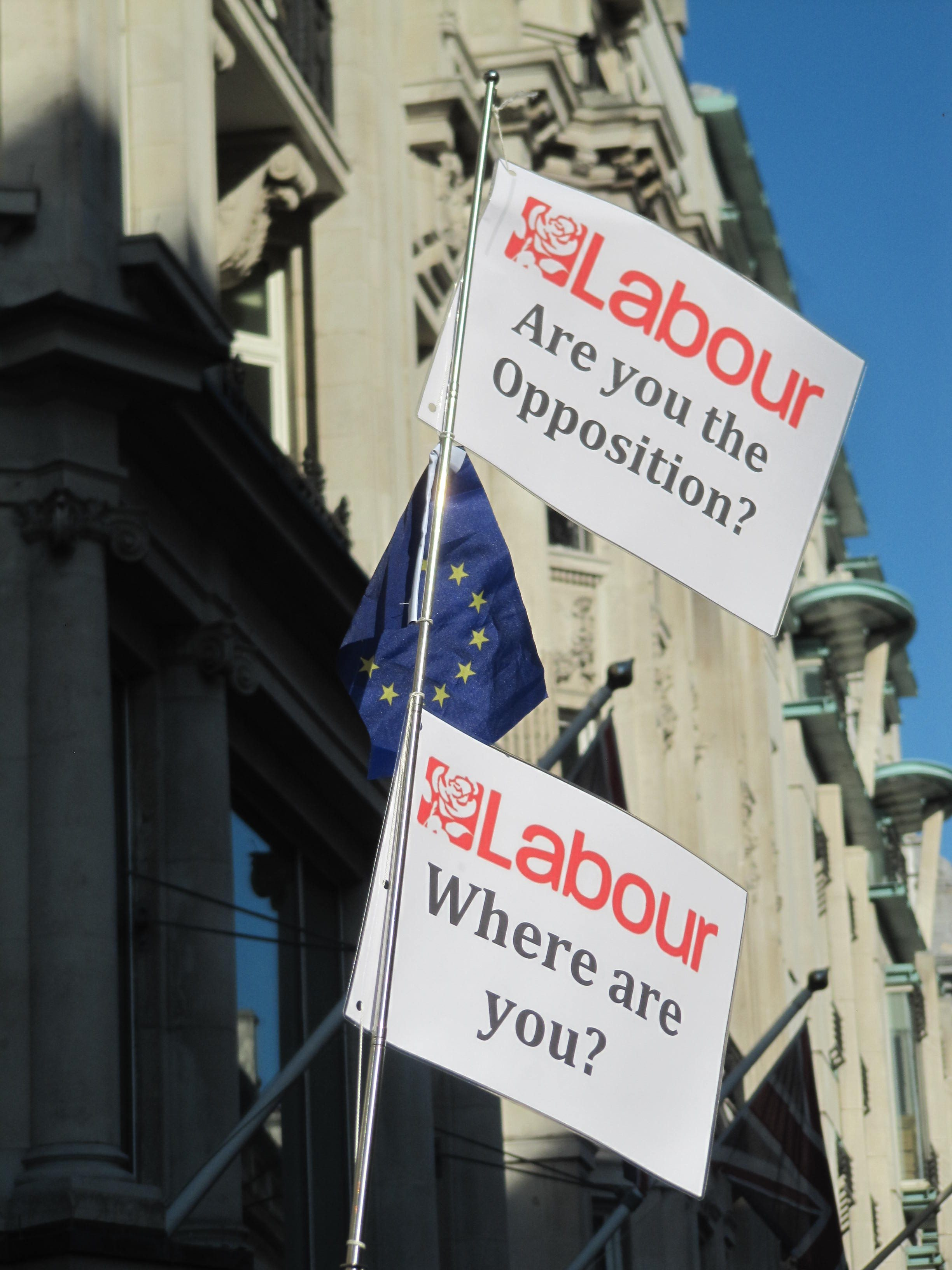 Labour Where are? Are you an opposition