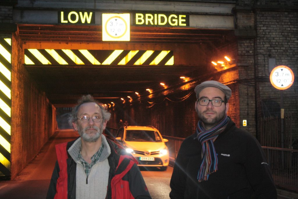 Andreas and Lars at Marble Arch, York Central