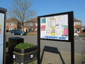 Council notice board