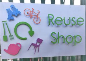 Devon Reuse Shop sign (waste)