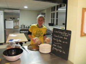 Rosie Baker waste food kitchen