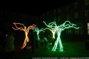 York St John - Tree of lights