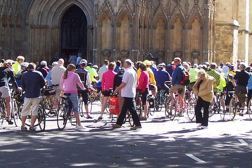 Bicycles at Minster