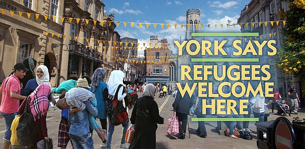 Refugees welcome demonstration in York