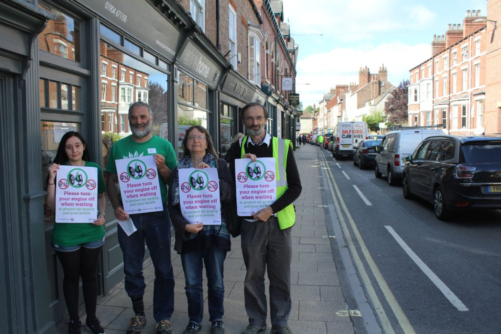 Clean Air Day Gillygate