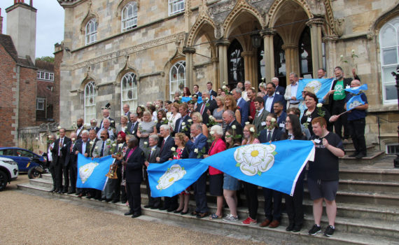 One Yorkshire launch at Bishopthorpe Palace