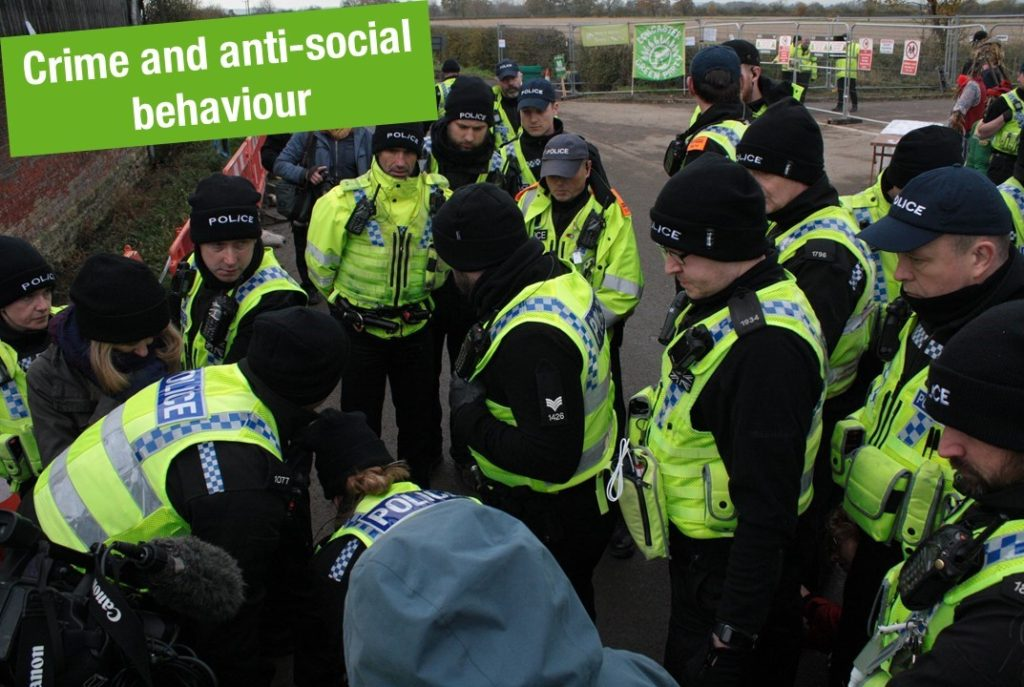 Crime and Anti-social Behaviour