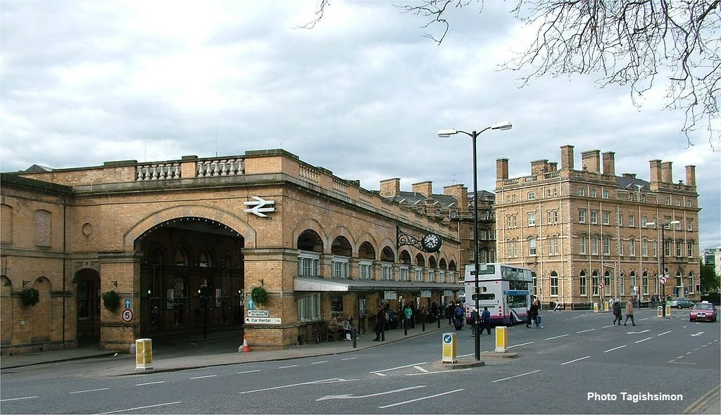 York station front