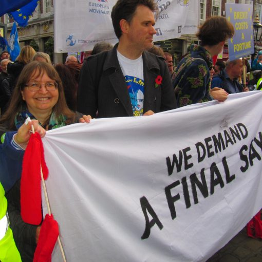 We demand a final say - banner